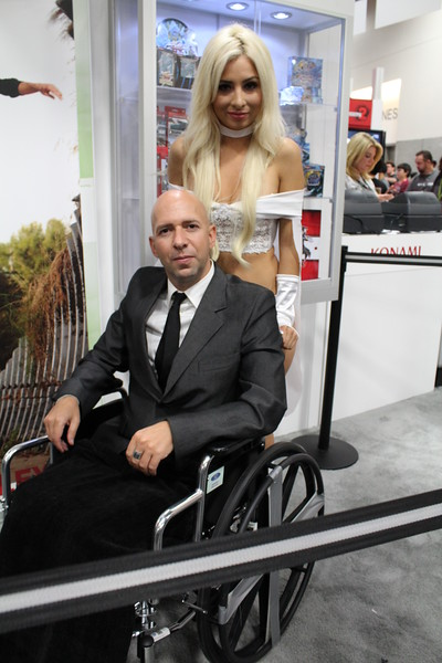 Professor X and Emma Frost