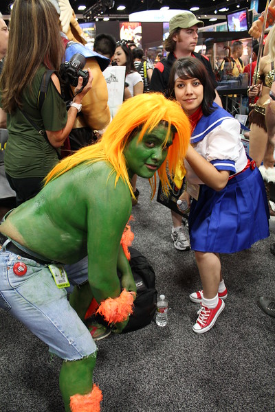 Blanka and Sakura