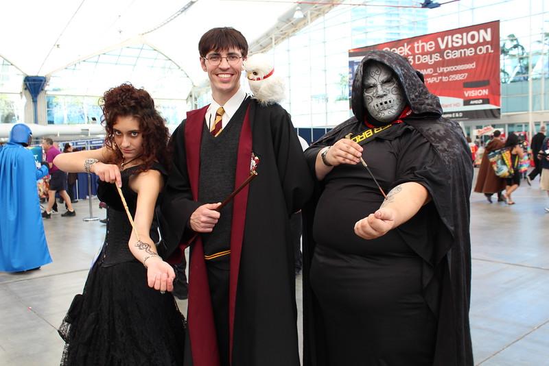 Bellatrix Lestrange, Harry Potter, and Death Eater