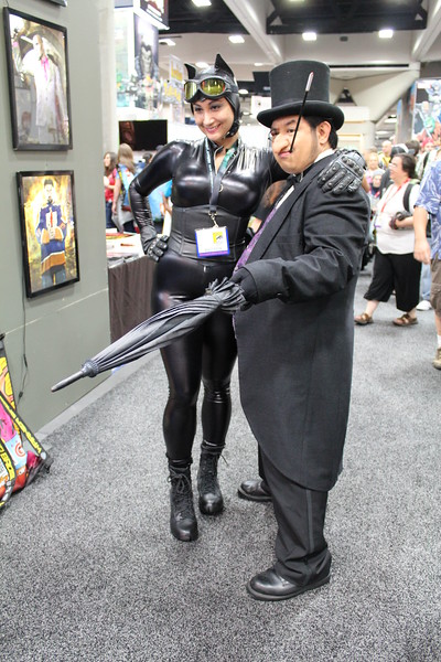 Catwoman and Penguin