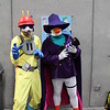Megavolt and Darkwing Duck