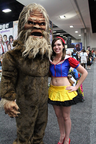 Bigfoot and Snow White
