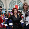 Iron Man, Black Widow, and Thor