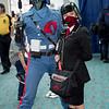 Cobra Commander and Cobra Officer