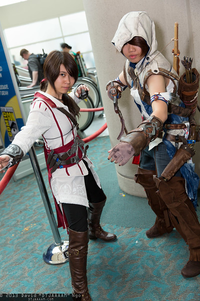 Ezio Auditore da Firenze and Connor Kenway