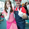 Princess Peach and Mario