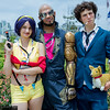 Faye Valentine, Jet Black, Spike Spiegel, and Ein
