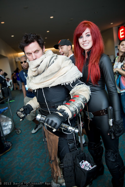 Starkiller and Mara Jade