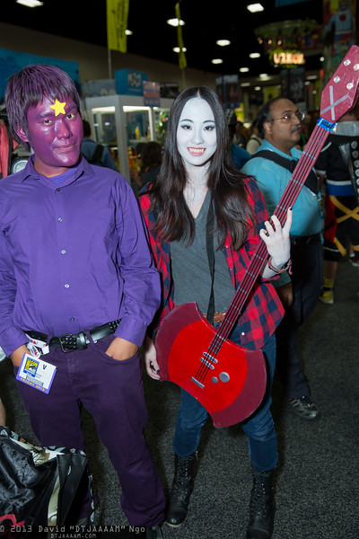 Lumpy Space Prince and Marceline