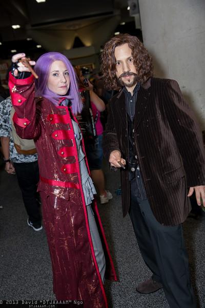 Nymphadora Tonks and Sirius Black