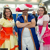 Princess Daisy, Toad, and Princess Peach
