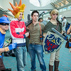 Sly Cooper, Spike, Nathan Drake, Link, Jak, and Sackboy