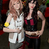 Lightning and Harley Quinn