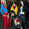Supergirl, Jubilee, Robin, and Zatanna