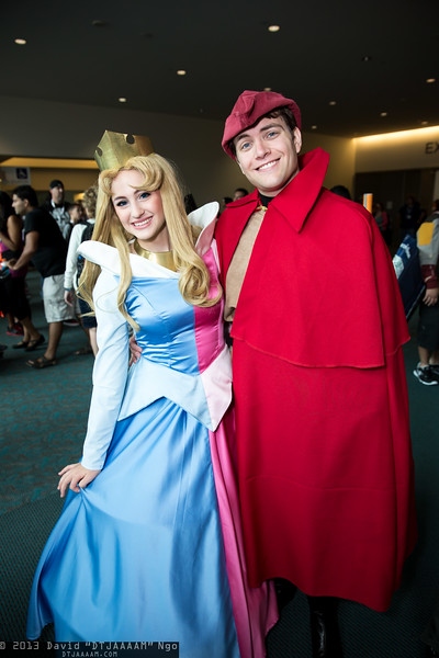 Princess Aurora and Prince Phillip