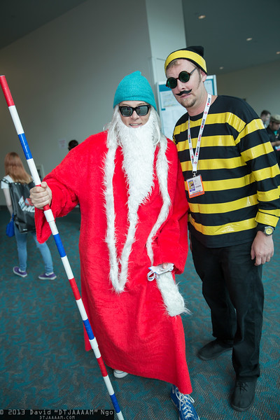 Wizard Whitebeard and Odlaw