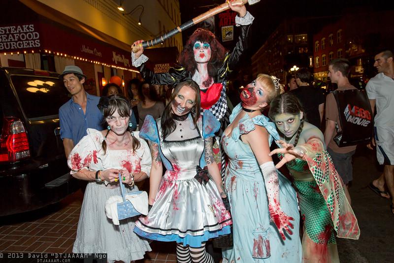 Dorothy Gale, Alice, Red Queen, Cinderella, and Princess Jasmine