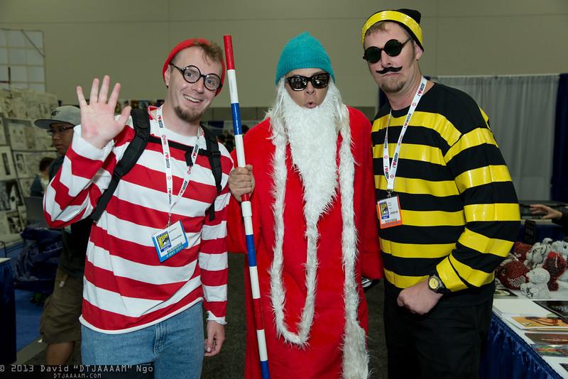 Waldo, Wizard Whitebeard, and Odlaw