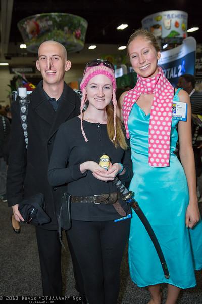 Felonius Gru, Edith, and Lucy Wilde