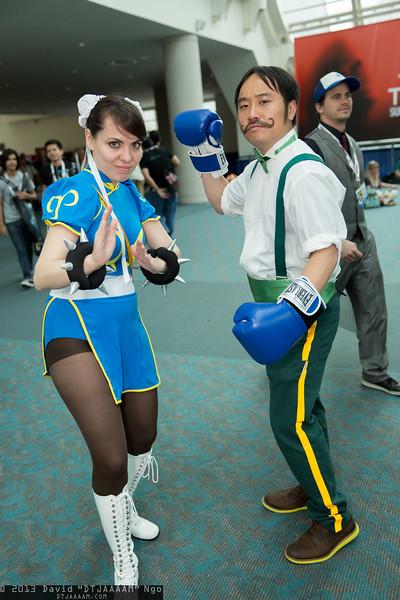 Chun-Li and Dudley