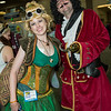 Tinker Bell and Captain Hook