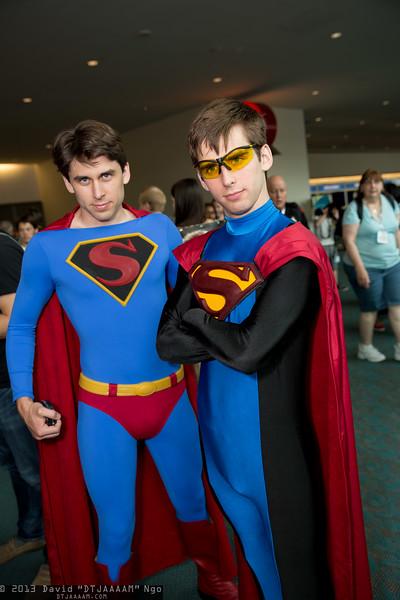 Superman and Eradicator