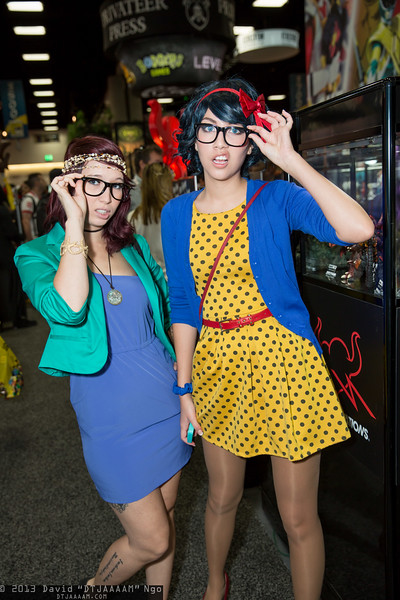 Hipster Ariel and Hipster Snow White