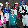 Hilda, Ash Ketchum, Oshawott, Red, James, and Jessie