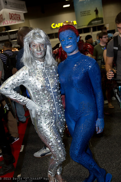 Emma Frost and Mystique