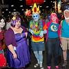 Marceline, Lumpy Space Princess, Ice King, Princess Bubblegumm, and Finn