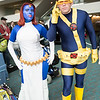 Mystique and Cyclops