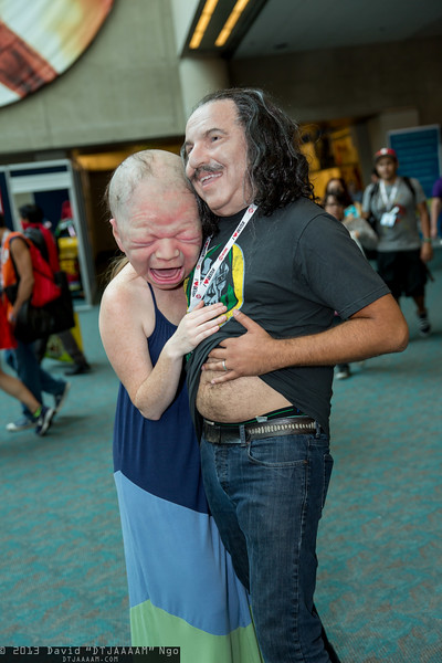 Cry Baby and Ron Jeremy