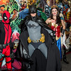 Deadpool, Batman, and Wonder Woman