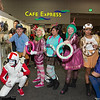 Turbo, Fix-It Felix, Jr., Taffyta Muttonfudge, Vanellope von Schweetz, Candlehead, Crumbelina DiCaramello, and Citrusella Flugpucker