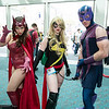 Scarlet Witch, Ms. Marvel, and Hawkeye