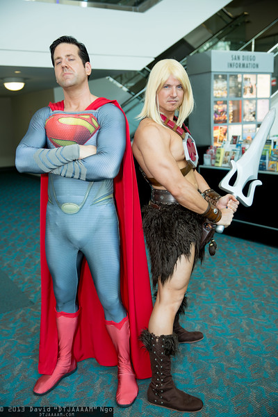 Superman and He-Man