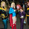 Black Canary, Supergirl, Duela Dent, and Batgirl