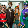 Harley Quinn, Scarecrow, Poison Ivy, and Riddler