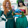 Merida, Lilo, and Stitch