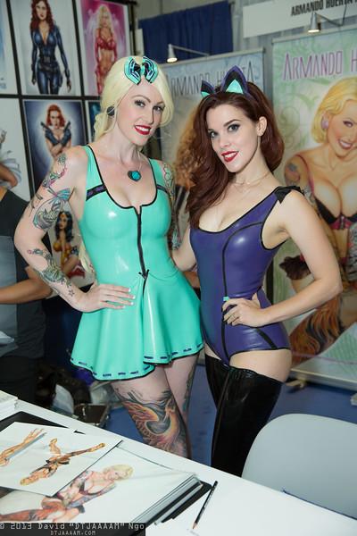 Andi Lyn and Nicole Vaunt