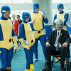 Cyclops, Marvel Girl, Beast, Professor X, Angel, and Iceman