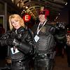 Judge Anderson and Judge Dredd