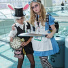 White Rabbit and Alice