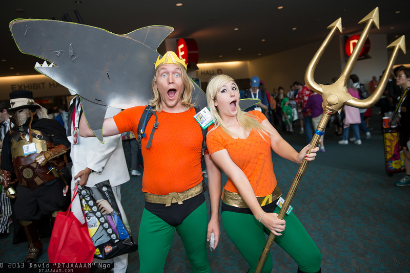 Aquaman and Aquawoman