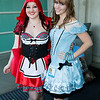 Little Red Riding Hood and Alice
