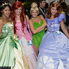 Tiana, Ariel, Tinker Bell, and Sofia