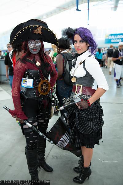 Pirate and Steampunk