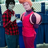 Marshall Lee and Prince Gumball