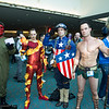 Red Skull, Human Torch, Captain America, and Sub-Mariner