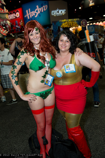 Poison Ivy and Iron Man